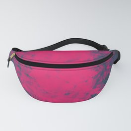 Shattered Purple Fanny Pack
