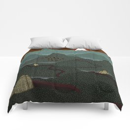 mountain system Comforters
