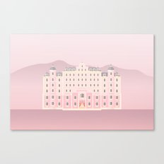 The Grand Budapest Canvas Print