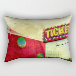 Tickets Rectangular Pillow
