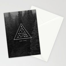 Woods -- Bon Iver Stationery Cards