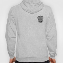 This goodbye is not forever Sympathy  - Zentangle Illustration Hoody