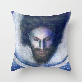 Fatale - John - Silver Throw Pillow