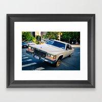 LUNATIC1 Framed Art Print