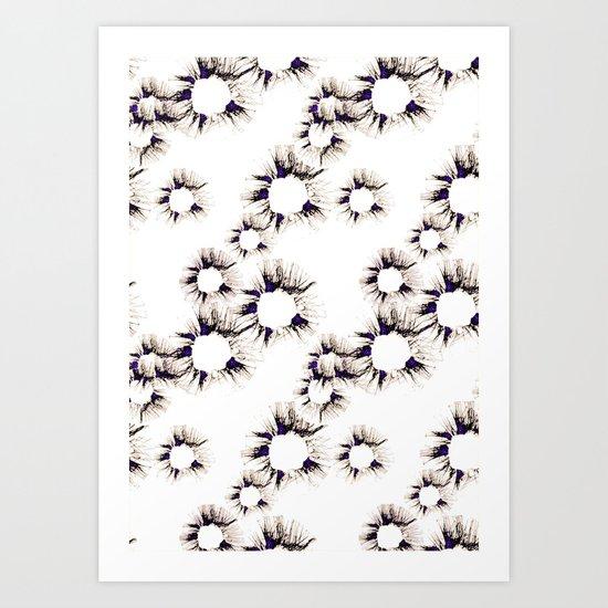 Lace Flower Art Print