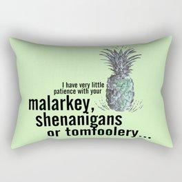 Malarkey, Shenanigans & Tomfoolery - Psych Rectangular Pillow