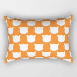 Ginger Kitty Rectangular Pillow