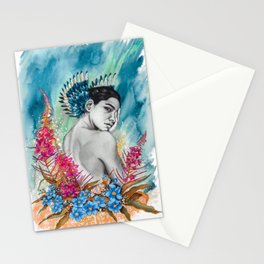 Alaska Wildflowers: Fireweed & Forget-me-nots Stationery Cards