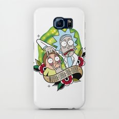 Traditional Rick and Morty  Slim Case Galaxy S6