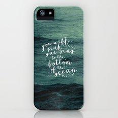 DEEPER THAN THE OCEAN iPhone (5, 5s) Slim Case