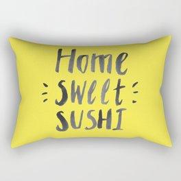 home sweet sushi Rectangular Pillow