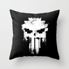 Space Punisher Throw Pillow