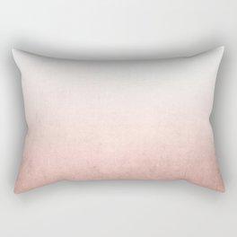 Rose Gold Ombre Rectangular Pillow
