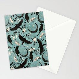 Raven Tarot blue Stationery Cards