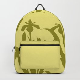 Daffodils yellow abstract Design Backpack