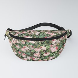 Pink roses Fanny Pack