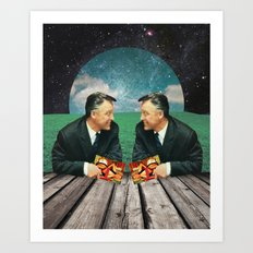 Double Take Art Print