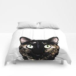 Peeking Cat Comforters