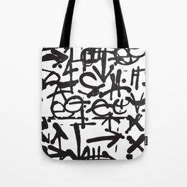 Graffiti Pattern Tote Bag