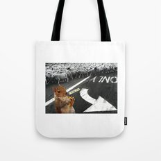 You Don't Have To Follow The Crowd Tote Bag