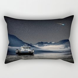 On the Water Under the Stars Rectangular Pillow