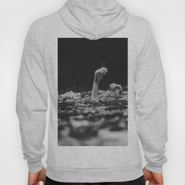 She Needs Help (Black and White) Hoody