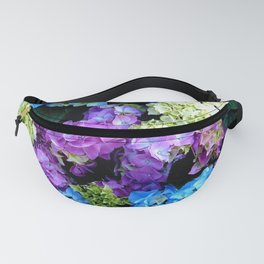 Colorful Flowering Bush Fanny Pack
