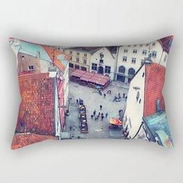 Tallinn art 6 #tallinn #city Rectangular Pillow