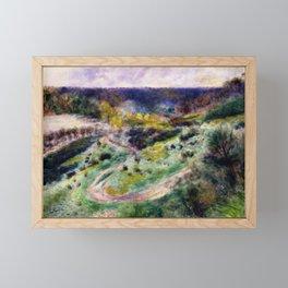 Road at Wargemont Framed Mini Art Print