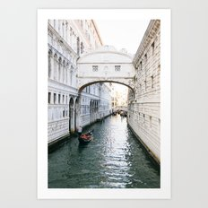 The Venice Canals Art Print