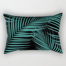 Palm Leaves - Cali Vibes #4 #tropical #decor #art #society6 Rectangular Pillow
