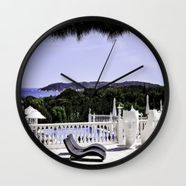 Saint-Tropez Hotel - Southern France Wall Clock