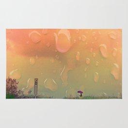 Rain in September Rug