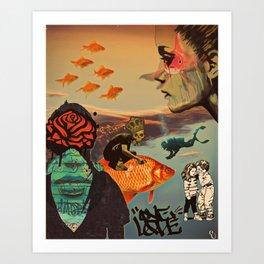 One luv Art Print