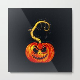 Escape From The Pumpkin Patch Metal Print