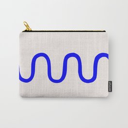 Abstract Shape Series - Squiggle Carry-All Pouch