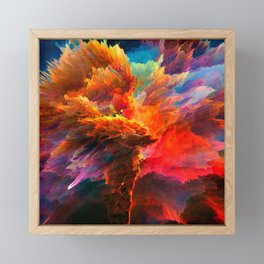 Mákis Framed Mini Art Print