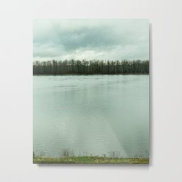 River // State Line Metal Print