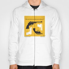 No087 My Taxi Driver minimal movie poster Hoody