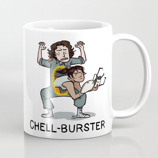 Chell Burster Mug