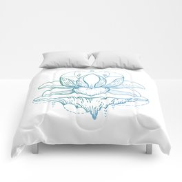 Heavenly lotus Comforters