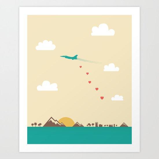 Love War Art Print