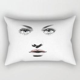 Fashion Illustration - Barbara Rectangular Pillow