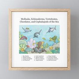 Go Fish! Framed Mini Art Print