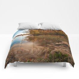 Autumn Susquehanna River Comforters