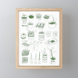 Cover, CONTAIN, Compost - 2 of 3 Framed Mini Art Print