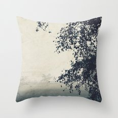 A Lovely Gloom Throw Pillow