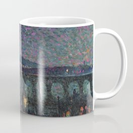 Impression Nocturne, 1893  by French Neo-impressionist artist Maximilian Luce. Coffee Mug