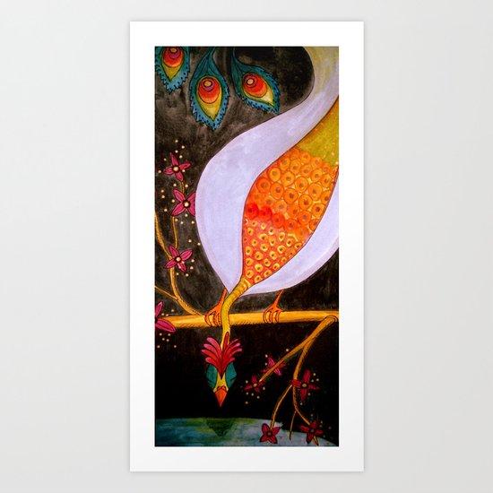 reflet Art Print