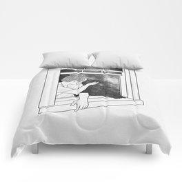 The window of memories. Comforters